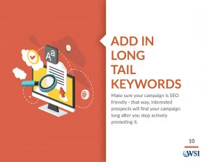 Add in Long-Tail Keywords