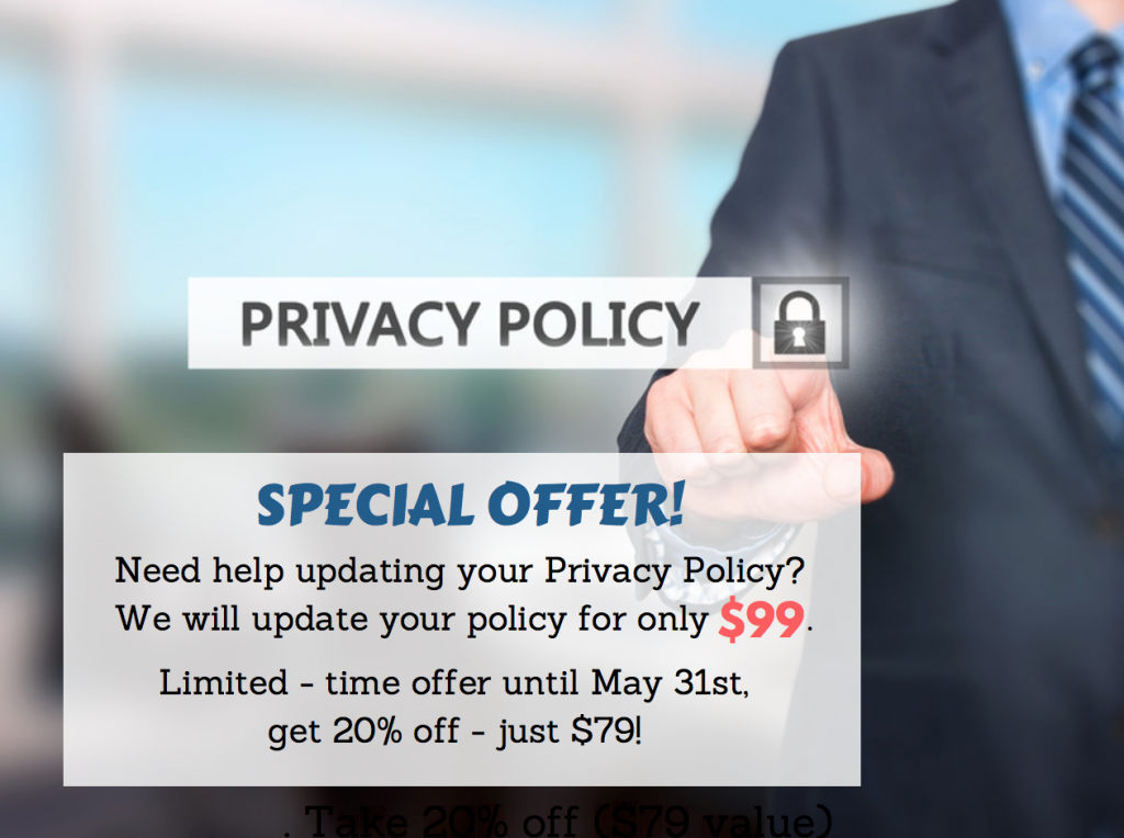 Privacy Policy update deal Advertising Is Simple