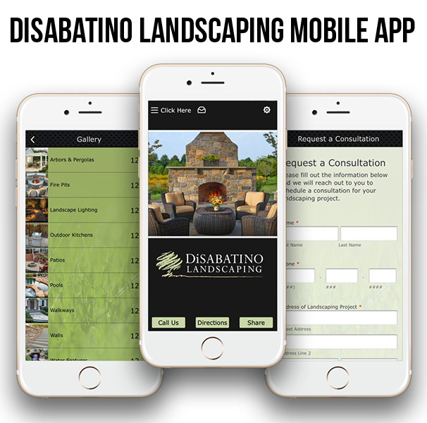 disabatino-landscaping-mobile-app-design
