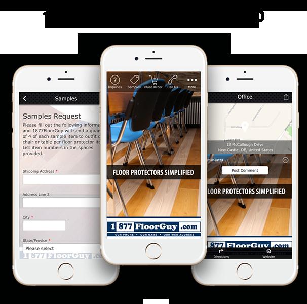 Floor Guy Mobile App