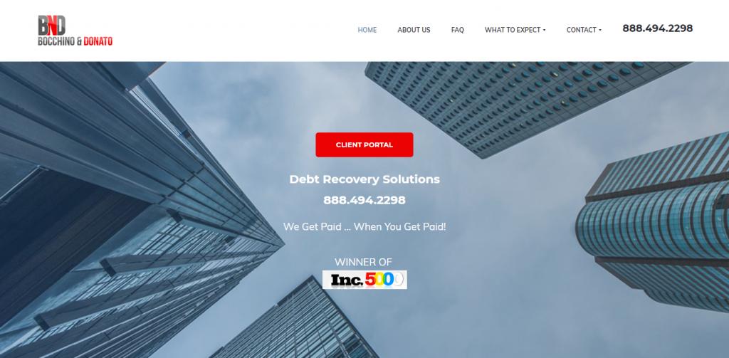BND Collect Website Design
