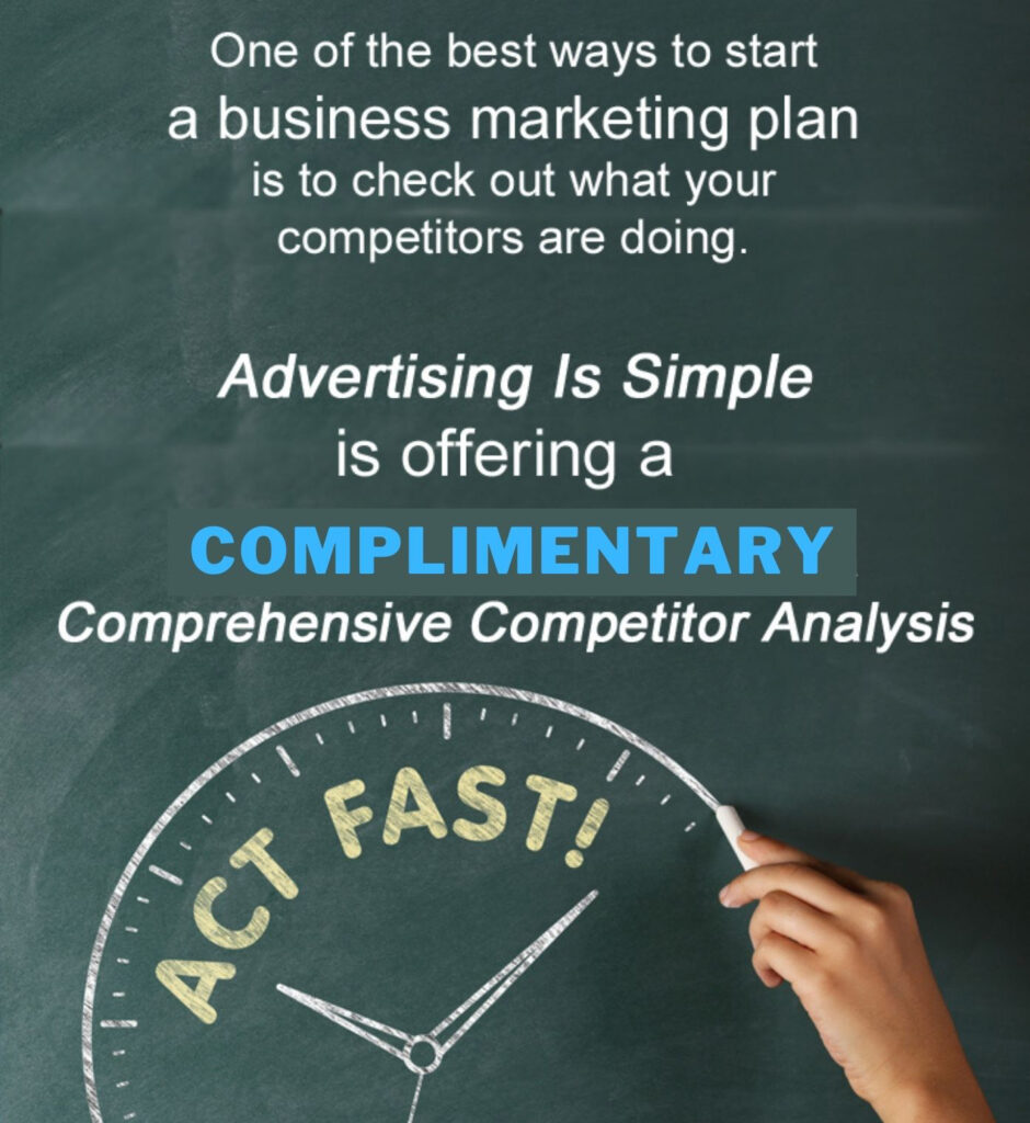 get complimentary competitor analysis